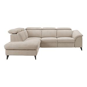 Canapé d'angle tissu Carl