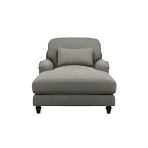 Chaise longue tissu Pauline