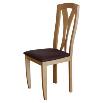 Lot de 2 chaises Panama, aulne c...