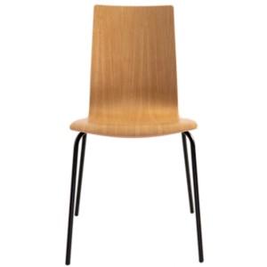 Lot de 2 chaises chêne Reda
