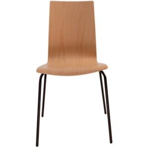 Lot de 2 chaises hêtre Reda