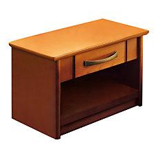 Chevet 1 niche 1 tiroir Monika m...