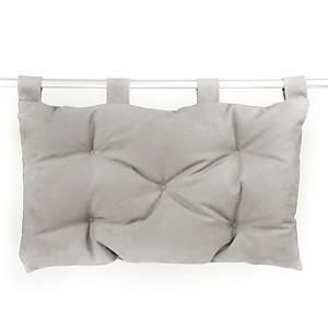 Tête de lit Kanéa, grise