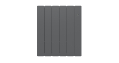 Radiateur Bellagio horizontal Smart  ECOControl gris anthracite NOIROT