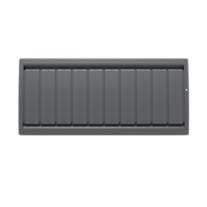 Radiateur Calidou bas Smart ECOcontrol  gris anthracite Noirot