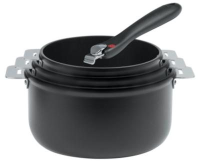 Set de 3 casseroles CRISTEL COOKWAY TWO poignée amovible
