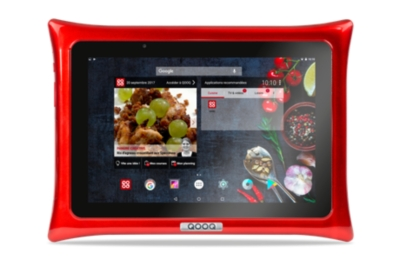 Tablette QooQ ULTIMATE rouge