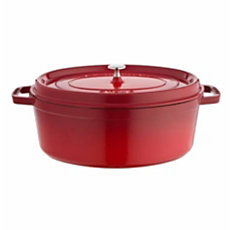 Cocotte ovale STAUB 33 cm rouge ...