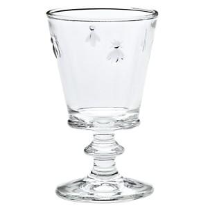 Lot de 6 verres à pied 24 cl - Abeille LA ROCHERE