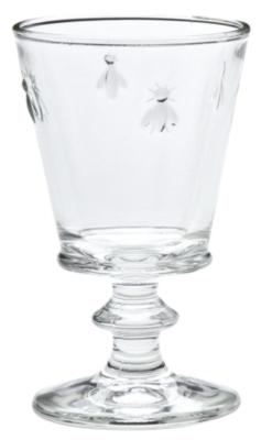 Lot de 6 verres à pied 24 cl - Abeille L