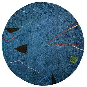 Tapis Mobile TOULEMONDE BOCHART,  Bleu