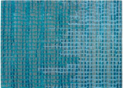 tapis pav toulemonde bochart bleu - Tapis Toulemonde Bochart