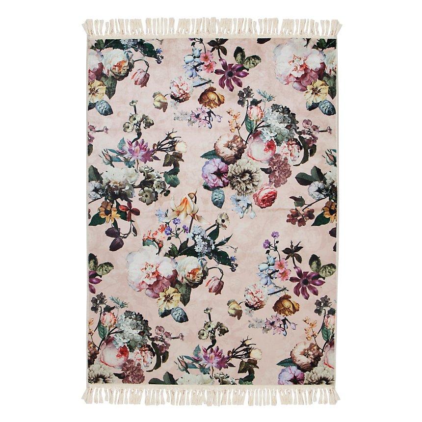 Tapis Essenza Fleur Rose Fleurs Fleurs 120x180 Cm Maison Tapis