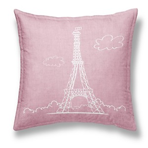 Coussin chambray Girl Effeil