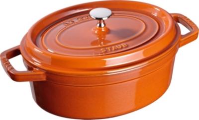 Cocotte fonte ovale STAUB 31 cm