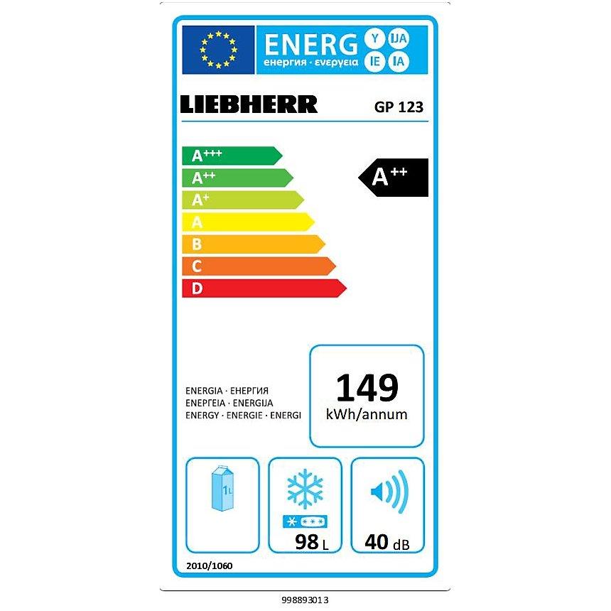 Congélateur LIEBHERR GP123