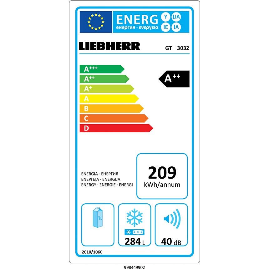 Congélateur coffre LIEBHERR GT3032-22