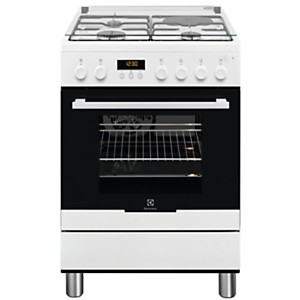 Cuisinière mixte garanti 5 ans EKM66780OW ELECTROLUX