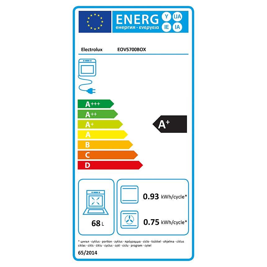 Four pyrolyse ELECTROLUX EOV5700BOX  garanti 5 ans