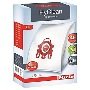 Lot de 4 sacs HyClean 3D Efficiency FJM MIELE