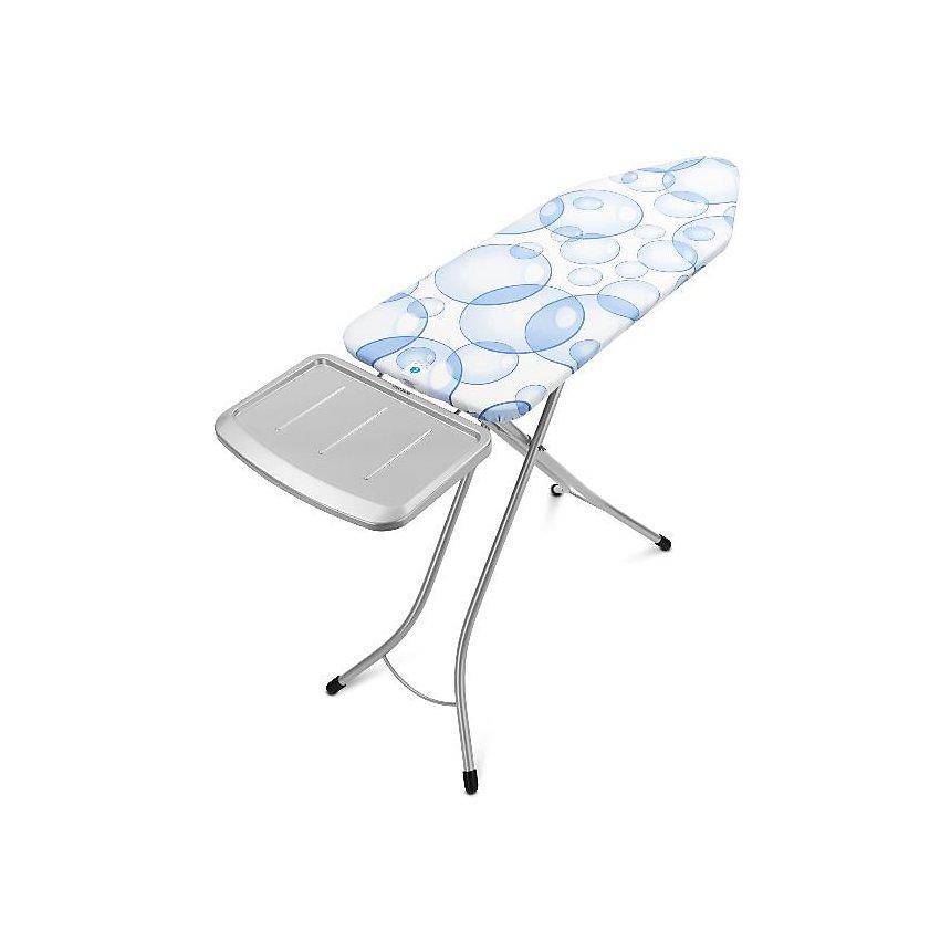 Table à repasser BRABANTIA 124 x 45 cm Bubbles - Perfect Flow