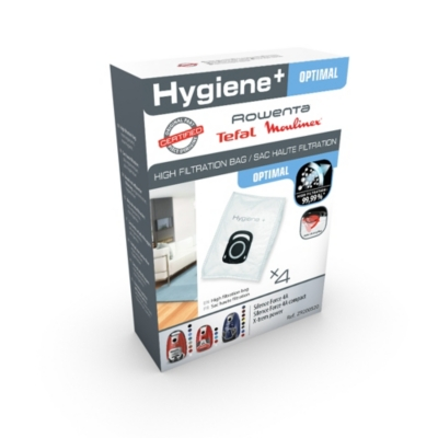 Lot de 8 sacs ROWENTA Hygiène Plus  ZR200520