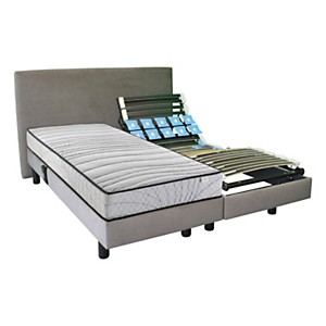 Ensemble relaxation Cassiopée et matelas Angel CONFORTISSIMO