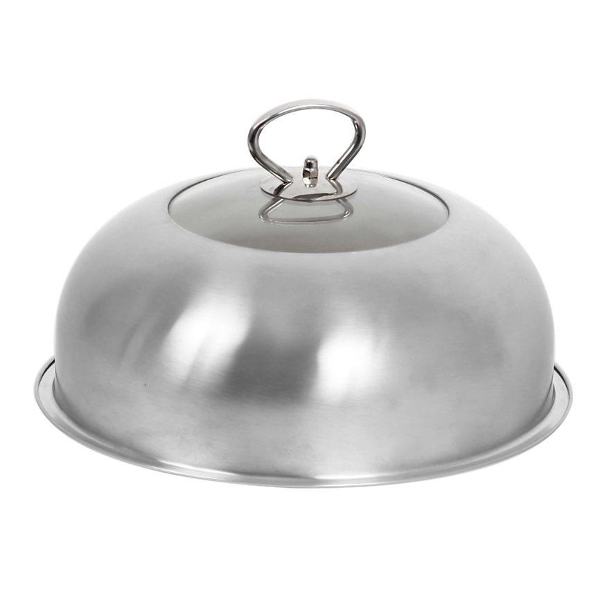 Cloche de cuisson vitrée en inox LE  MARQUIER