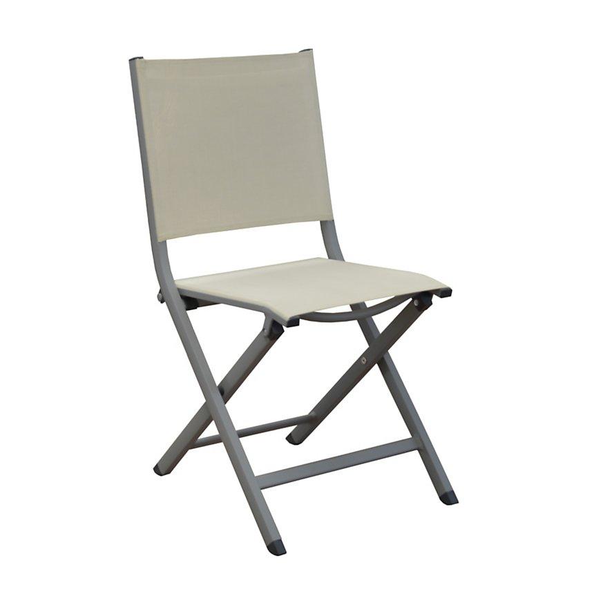 Lot de 2 chaises pliantes Thema