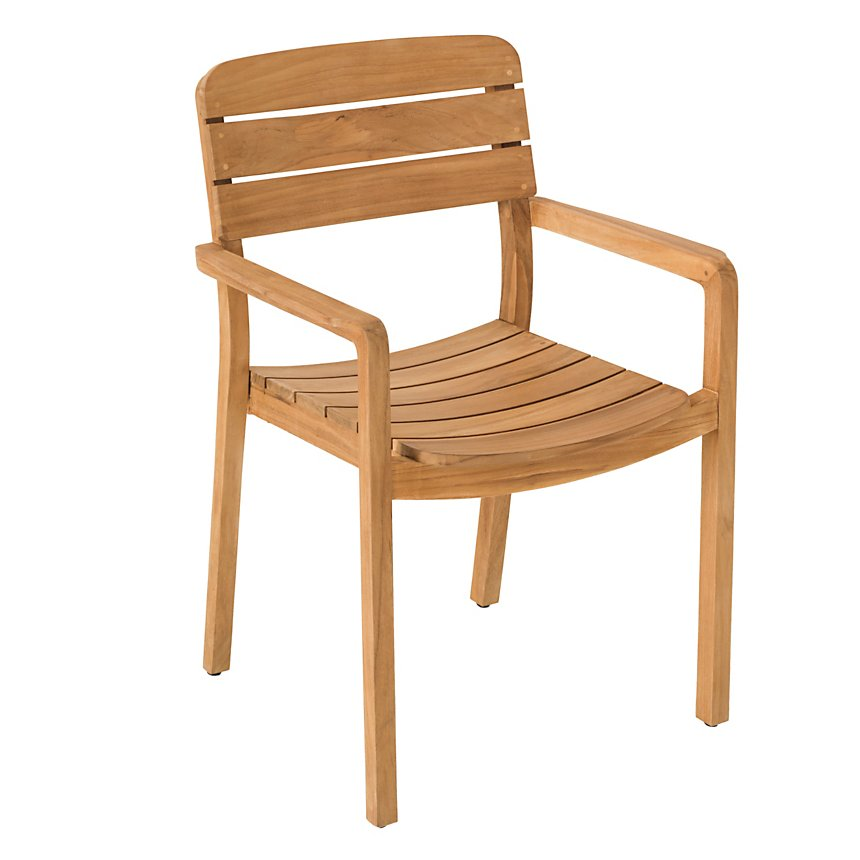 Lot de 2 fauteuils en teck Lodge  VLAEMYNCK