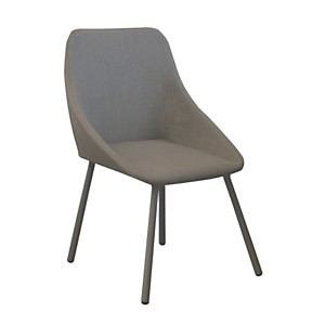 Lot de 4 fauteuils Bossa empilables OCEO