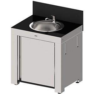Module évier pour cuisine d'extérieur en  inox ENO