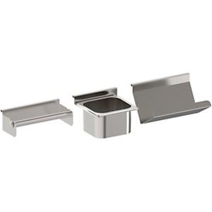 Ensemble de 3 accessoires en inox pour  cuisine d'extérieur ENO