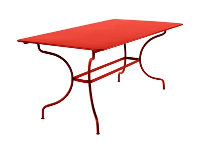 Table rectangulaire FERMOB Manosque  160 x 90 cm, coloris au choix