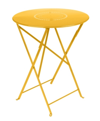 Table pliante ronde FERMOB FLOREAL  Ø 60 cm, coloris au choix