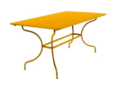Table rectangulaire FERMOB Manosque  160 x 90 cm, coloris au choix