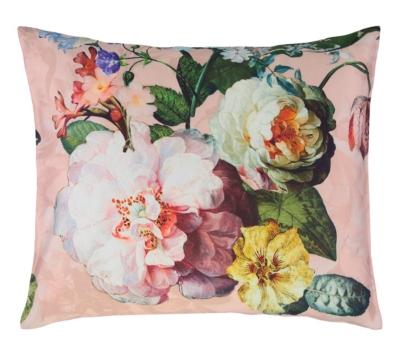 Parure de lit satin Fleur ESSENZA, Rose