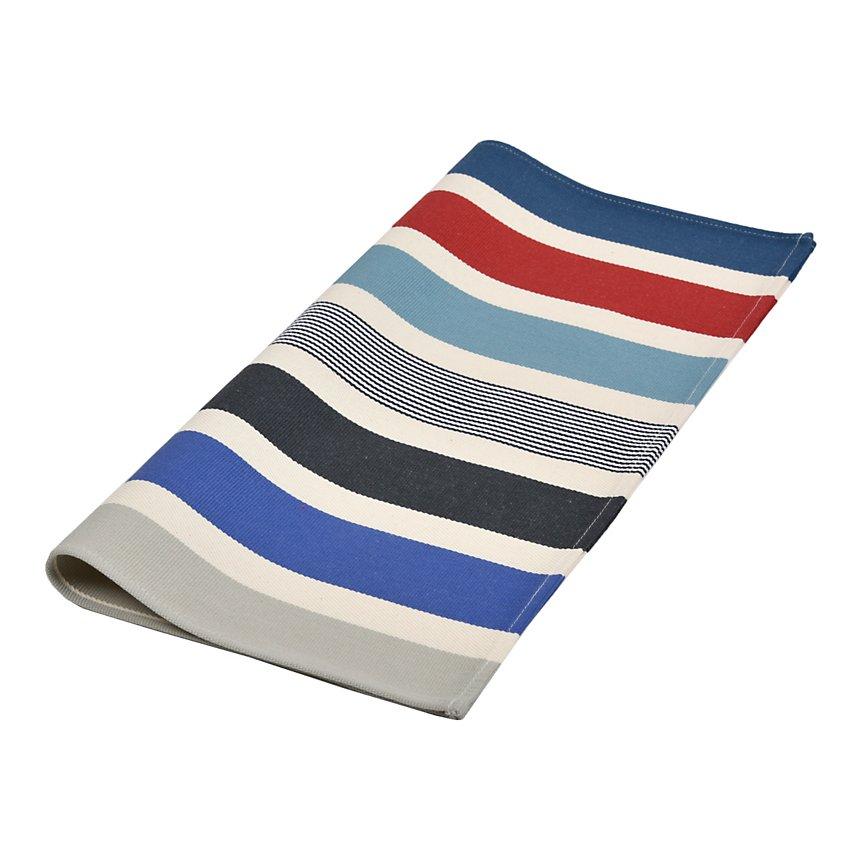 Lot de 6 serviettes de table Garlin  marine ARTIGA