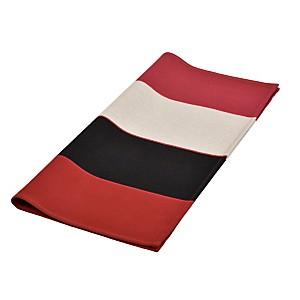 Lot de 6 serviettes de table Laas rouge  ARTIGA