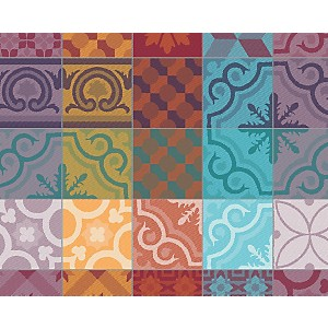 Lot de 4 sets de table Mille Tiles  GARN