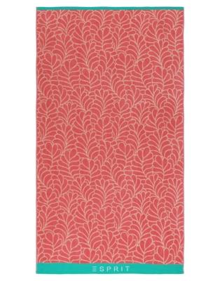 Drap de plage Leaf ESPRIT HOME, Pink