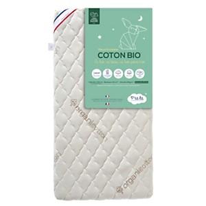 Matelas bébé Coton Bio P'TIT LIT, 12 cm