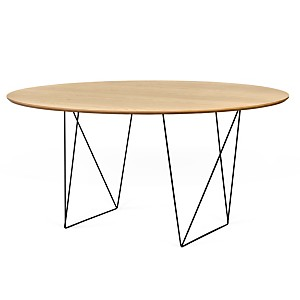 Table ronde 150 cm chevalet Pluriel