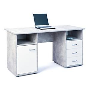 Bureau Ilies 1 porte 3 tiroirs