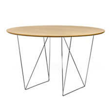 Table ronde 120 cm chevalet Plur...