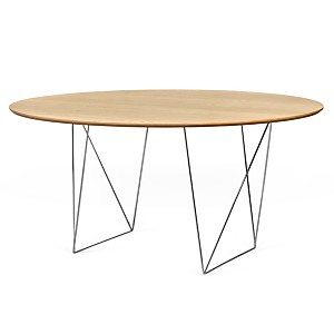 Table ronde 150 cm chevalet Pluriel