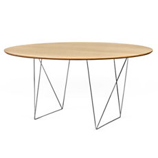Table ronde 150 cm chevalet Plur...
