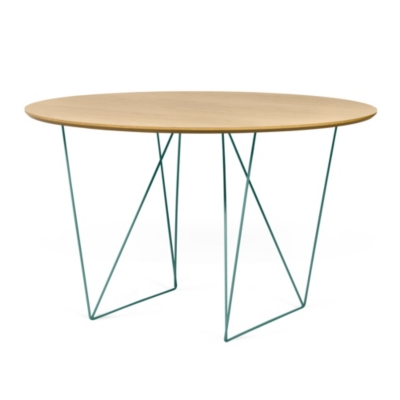 Table ronde 120 cm chevalet Pluriel