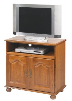 Meuble TV Cluzel 2 portes,  plateau pivotant