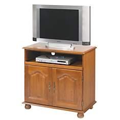 Meuble TV Cluzel 2 portes,  plateau pivo